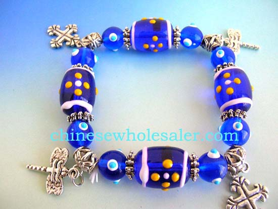 lampwork bracelet - How to make beaded jewelry