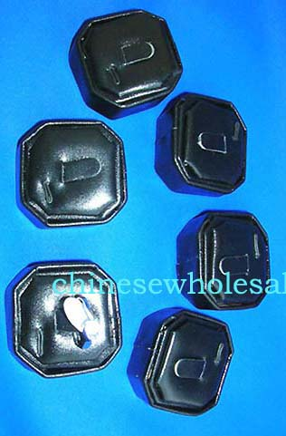 Square black leather ring display supplied at wholesale prices from China manufactured online comapny.s