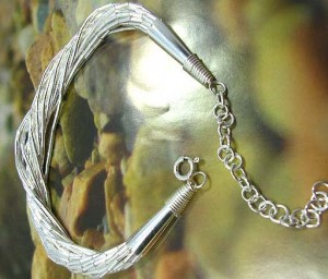 silver bracelet, wholesale fashion jewellery