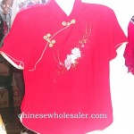 chinese-dress-embroidered-silk, Chinese products, Chinese Clothing